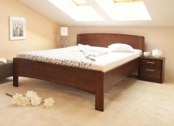 Masívna posteľ s úložným priestorom Evita 4-120