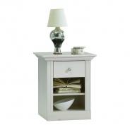 Nočný stolík Monako - biela