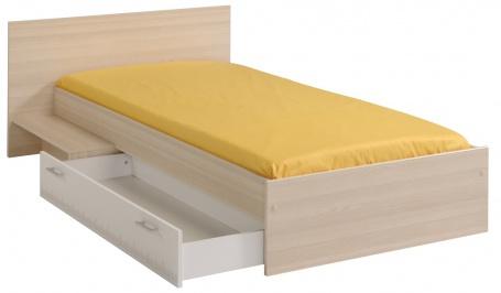 Detská posteľ so schodíkom a zásuvkou Charly 90x200cm