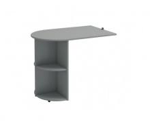 Prídavný stolík Dany - sivý