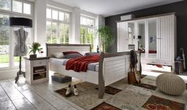 Spálňa Monako - biela / hnedá