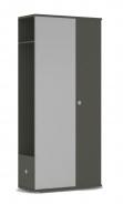 Chodbová šatníková skriňa REA Vesti 3 - graphite