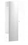 Chodbová šatníková skriňa REA Vesti 3 - biela