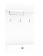 Vešiakový panel REA Vesti 2 - biela