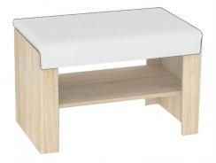 Sedacia lavička s výberom sedáku REA Vesti 1 - dub bardolino