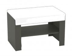 Sedacia lavička s výberom sedáku REA Vesti 1 - graphite