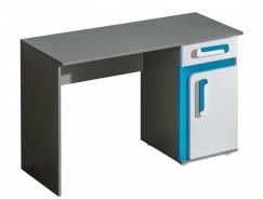 Pracovný stôl APETTITA 9 antracit / tyrkys