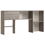 Nadstavec nad písací stôl Nody - dub flinstone