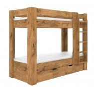 Detská poschodová posteľ REA Pikachu pravá - lancelot