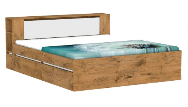 Manželská posteľ REA Amy 31/180 - lancelot - výber čela a líšt