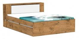 Manželská posteľ REA Amy 31/160 - lancelot - výber čela a líšt