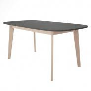 Televízny stolík Sissa - dub / šedá