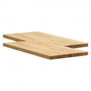 Jedálenský stôl Hilda 160cm - dub