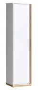 Evade E12 skriňa ľavá biela / orech