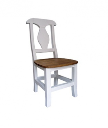 Jedálenská stolička z masívu SIL 03 sedliacka - výber morenia