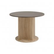 Jedálenský stôl guľatý Terra - dub