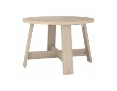 Jedálenský stôl guľatý rustikal Níl