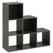 Regál Cubi 9 - šedá