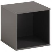 Regál / box Cubi - šedá