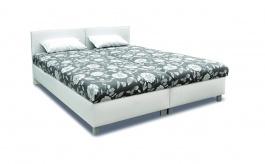 Čalúnená posteľ s roštom a matracom PETRA - výber poťahov