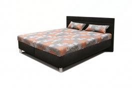 Čalúnená posteľ s roštom a matracom VANDA - výber rozmerov a poťahov