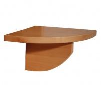Nočný stolík z masívu - závesný - výber odtieňov