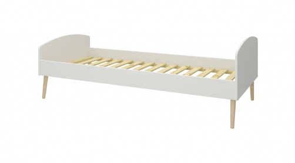Detská posteľ Soft 90x200cm - biela