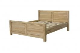 Masívna posteľ 160x200 DUB 08 - dub
