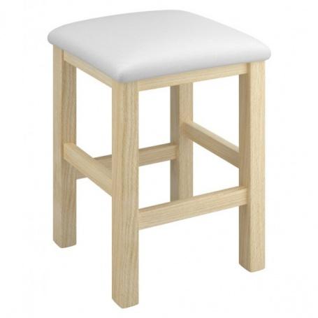 Stolička Clive - buk/biela