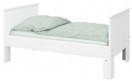 Detska posteľ Daisy 80x200cm - biela