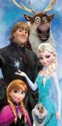 Osuška Frozen 02