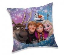 Vankúšik Frozen family 40x40cm
