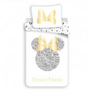 Obliečky Minnie gold