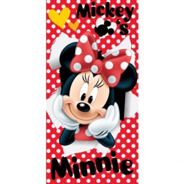 Osuška Minnie red 70x140cm
