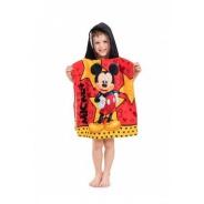 Pončo s kapucňou Mickey star