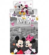 Obliečky Mickey a Minnie v Ríme
