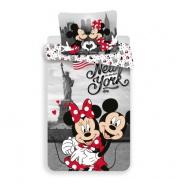 Obliečky Mickey a Minnie v New Yorku