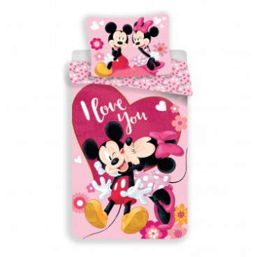 Obliečky Mickey a Minnie in love micro