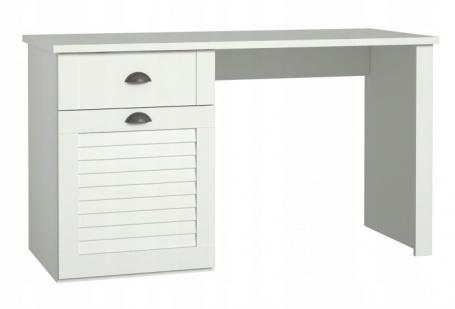 Písací stôl Heaven - biely