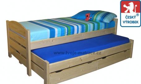 Detská posteľ s prístelkou Jesper P