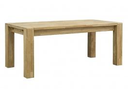 Masívny jedálenský stôl s rozkladaním - dub