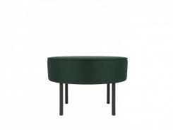 Čalúnený taburet/stolík Lafu H-zelený
