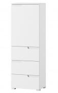 Skriňa 1-dverová so zásuvkami SELENE 11