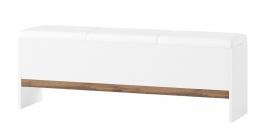 Lavica LIVORNO 65 dub wotan/biela