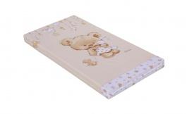 Detský matrac do postieľky Scarlett Grisi 60x120cm - béžový