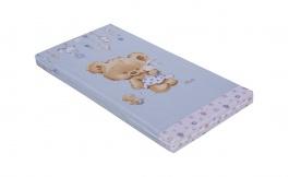 Detský matrac do postieľky Scarlett Grisi 60x120cm - modrý