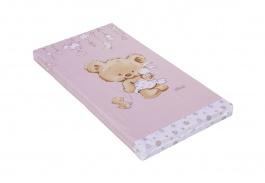 Detský matrac do postieľky Scarlett Grisi 60x120cm - ružový