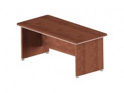Písací stôl rovný Lorenc - višňa