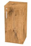 Malá dverová skrinka REA Office 20+D2 - lancelot - výber dvierok