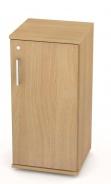 Malá dverová skrinka REA Office 20 + D2 - buk - výber dvierok